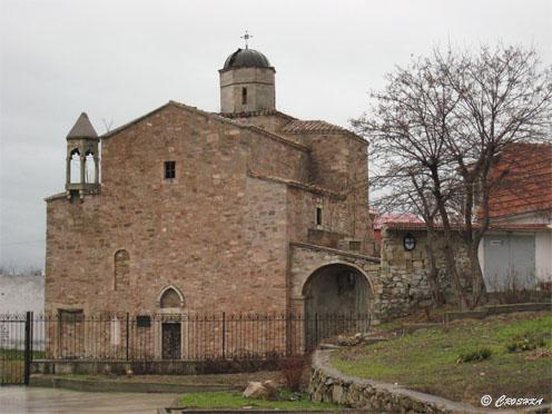 Старая армянская церковь. XIV век.